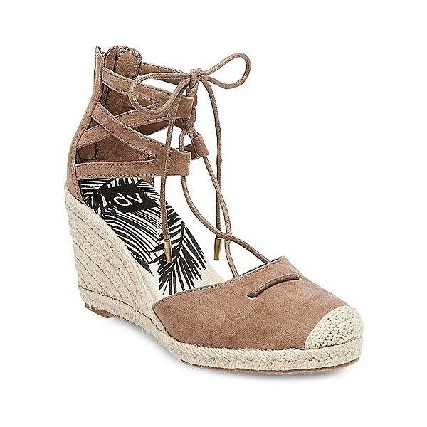 e5a5e217010 Women's dv Manica Ghillie Espadrille Wedge Sandals ($30) ❤ liked on ...