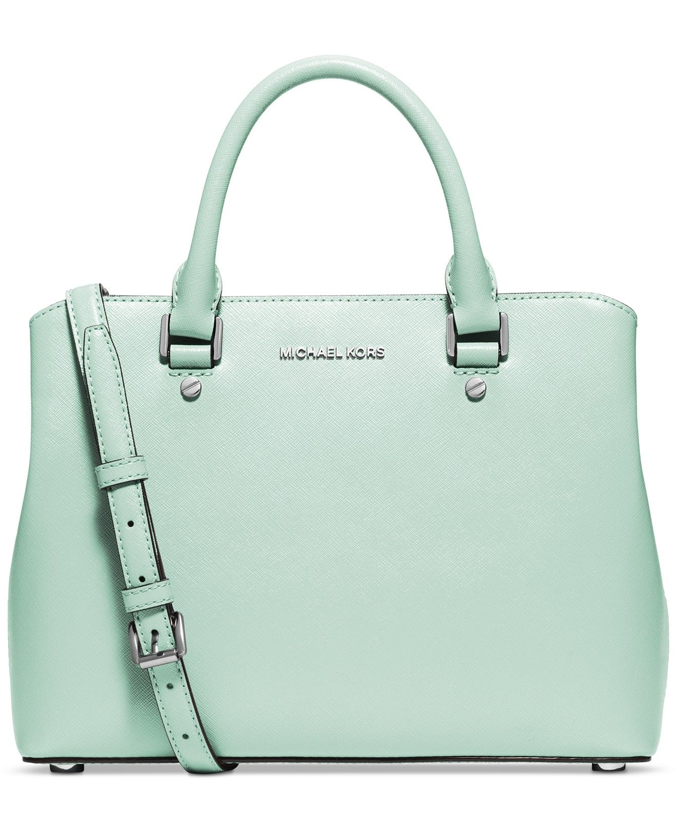 MICHAEL Michael Kors Savannah Medium Satchel - MICHAEL Michael Kors -  Handbags \u0026 Accessories - Macy\u0027s