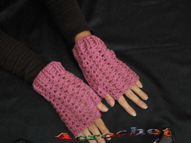 Guantes sin Dedos o Mitones Parte 1   Blog a Crochet - ACrochet ...