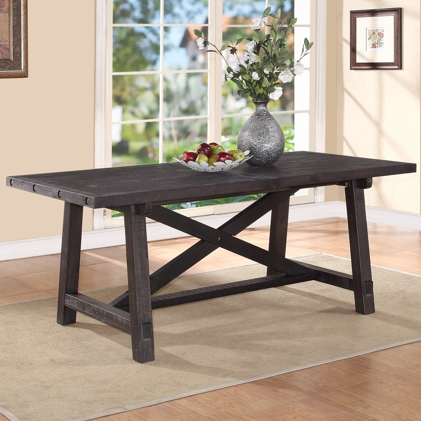 Charmant Modus Yosemite Solid Wood Rectangular Extension Table   Cafe   Kitchen U0026 Dining  Room Tables At Hayneedle