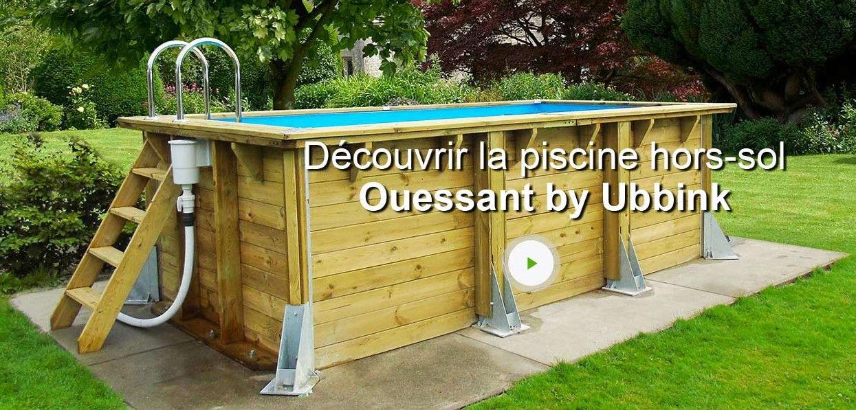 Piscine HorsSol Bois Ouessant Ubbink  Piscine Leroy Merlin