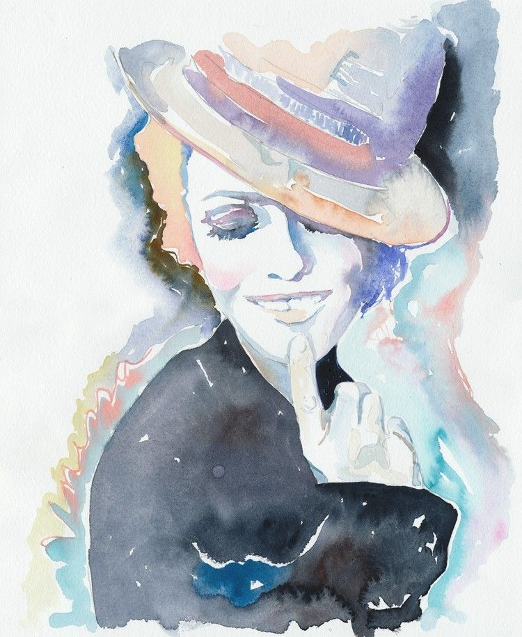 Cate Parr (watercolor)