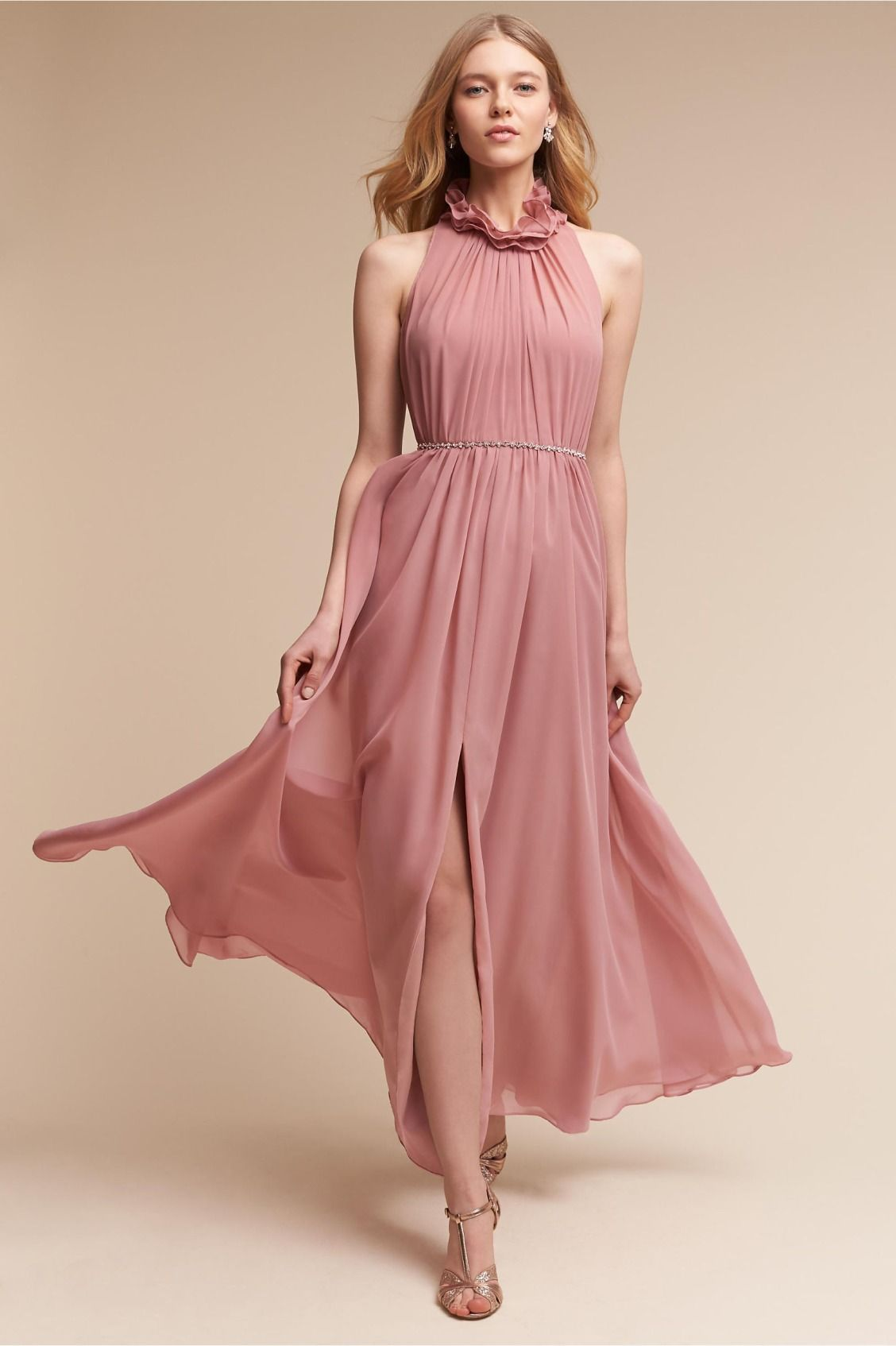 Inspired by the Victorian era | Camila Dress in Dusty Rose from ...