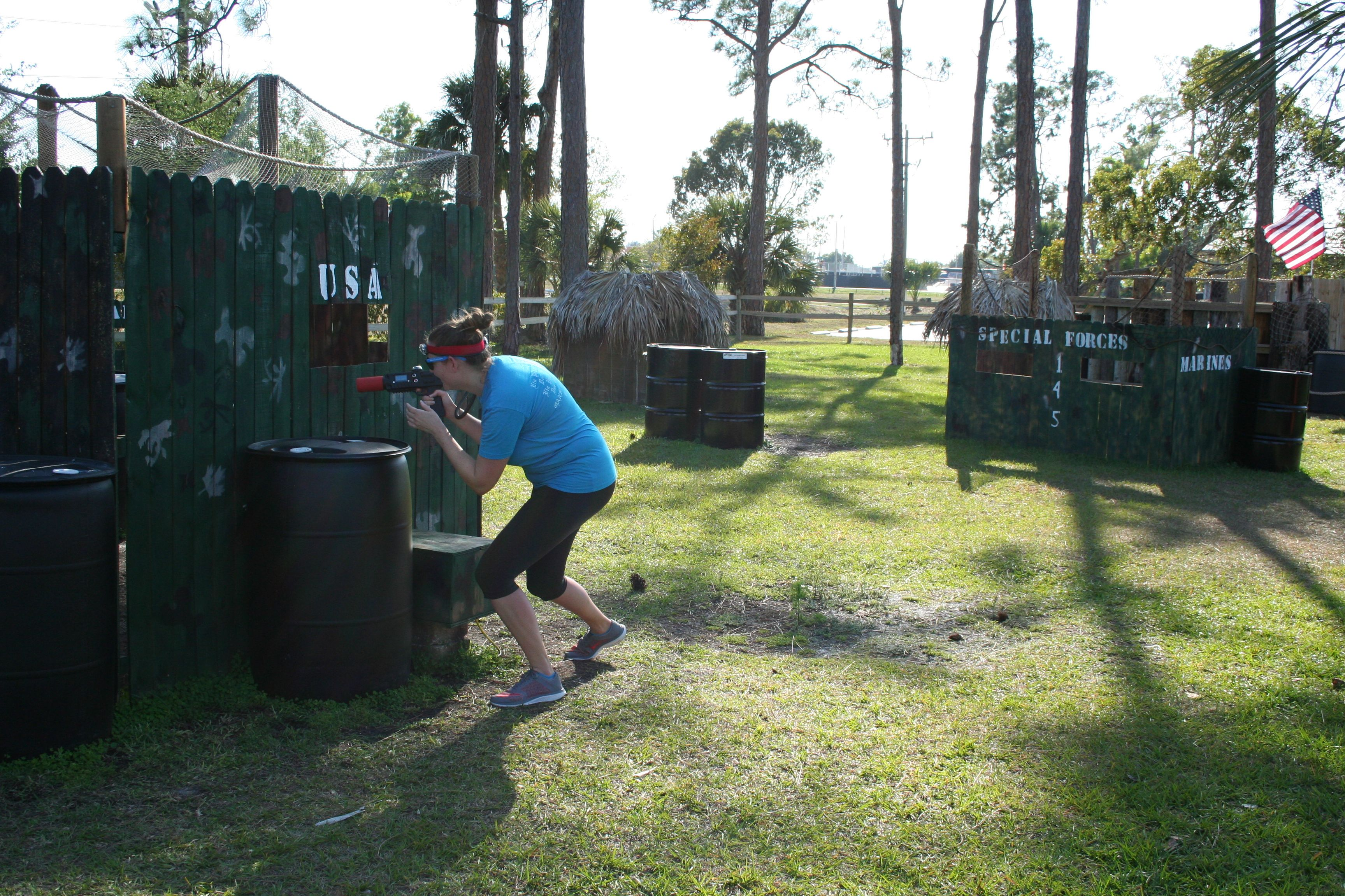 Extreme Outdoor Laser Tag At Tropical Breeze Fun Park In Cape Coral Fl Fort Myers Corporate Events Fun