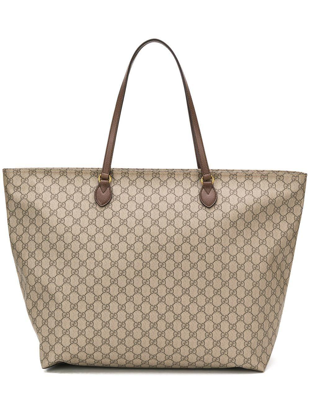 b4d6f710d09 GUCCI GUCCI GG MONOGRAM TOTE BAG - NEUTRALS.  gucci  bags  leather  hand  bags  tote