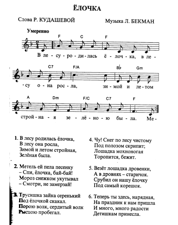Noty V Lesu Rodilas Elochka Dlya Pianino Dlya Nachinayushih 2 Tys Izobrazhenij Najdeno V Yandeks Kartinkah Muzykalnyj Klass Pianino Uroki Muzyki