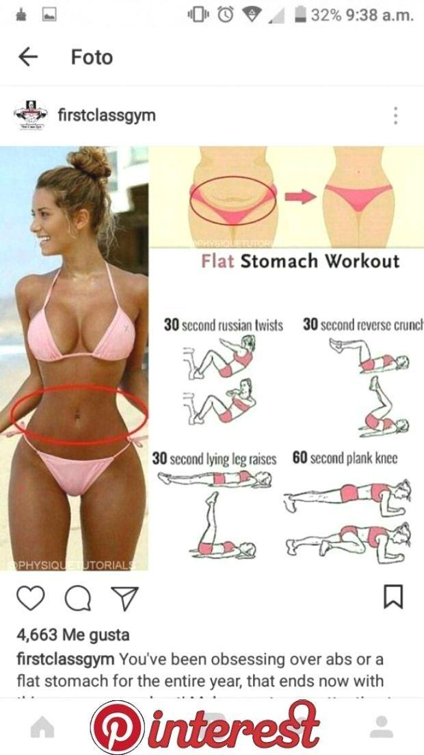 Übungen zum Abnehmen von Beinen und bauchfesten Frauen