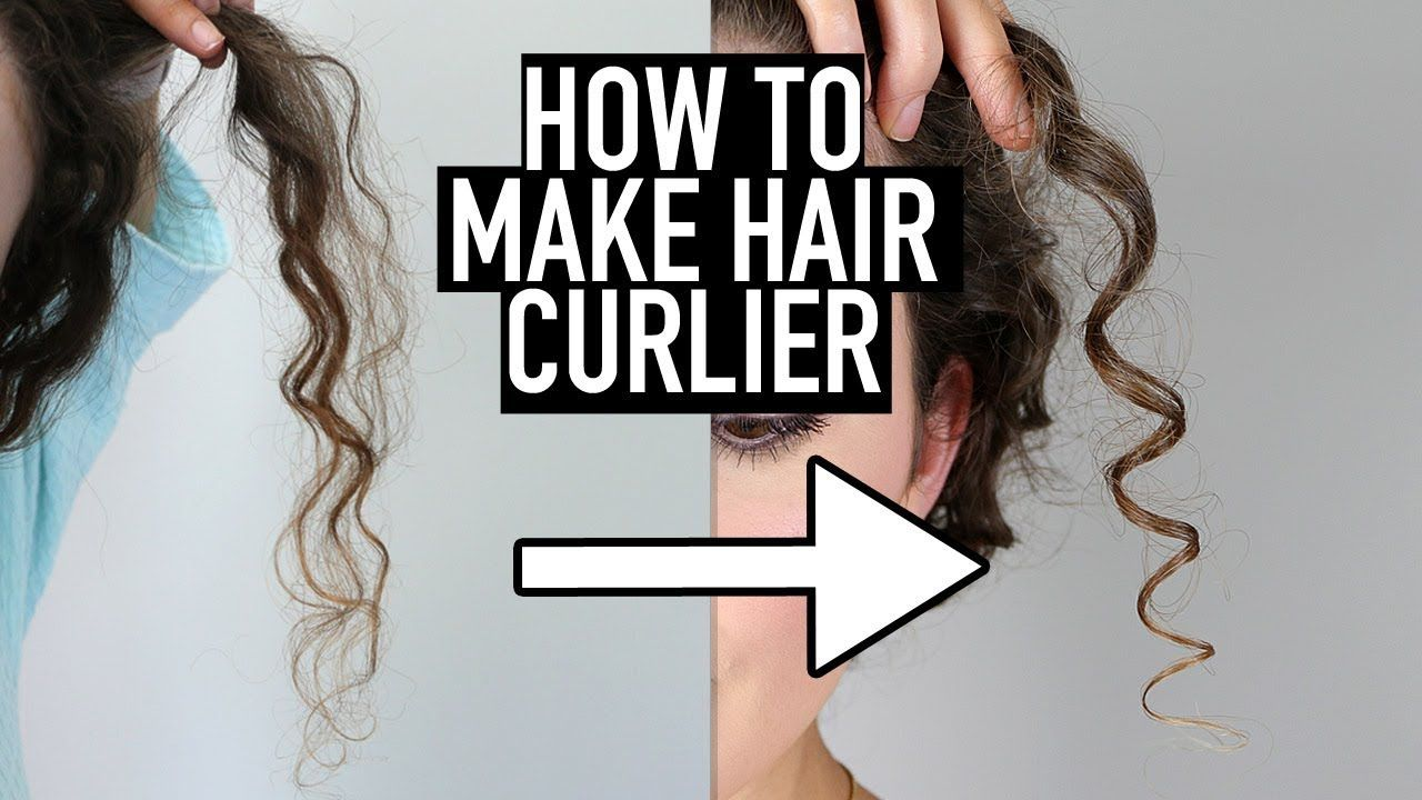 How to Make Hair Curlier - 10 Tips for Tighter, Defined Curls