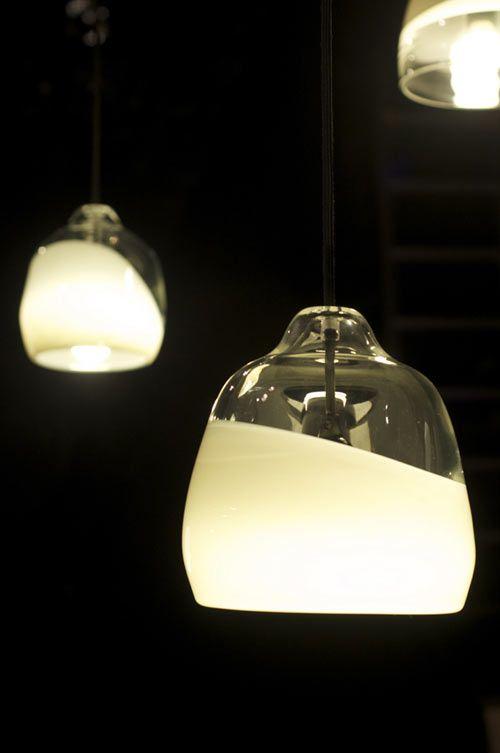 Pendant lights N°111 Blown crystal