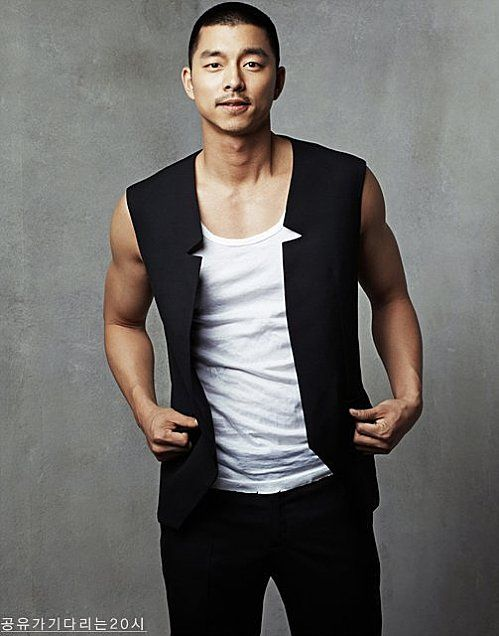 Gong Yoo, Korean actor (Coffee Prince, Biscuit teacher)