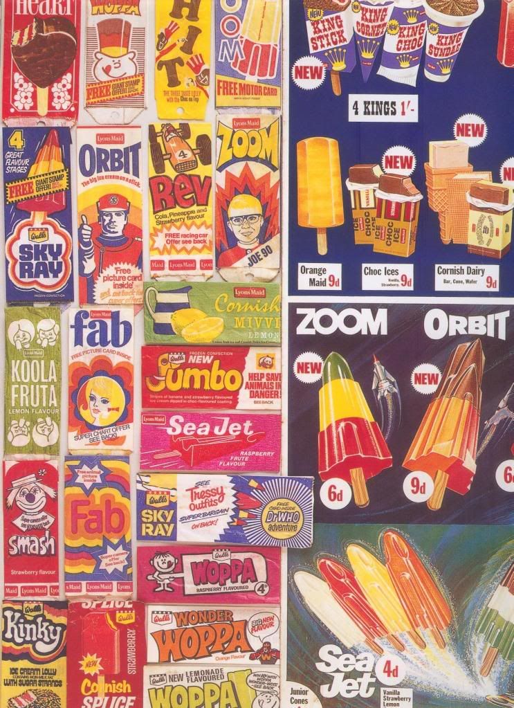 Names Of Ice Lollies Page 29 Vintage Ice Cream Ice Lolly Lollies