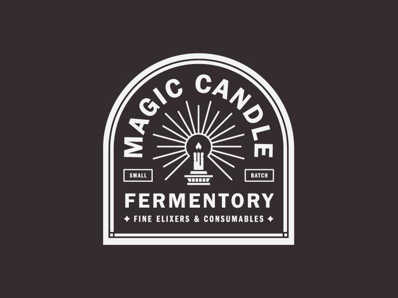Magic Candle Pt 3 Candle Logo Candle Magic Branding Design