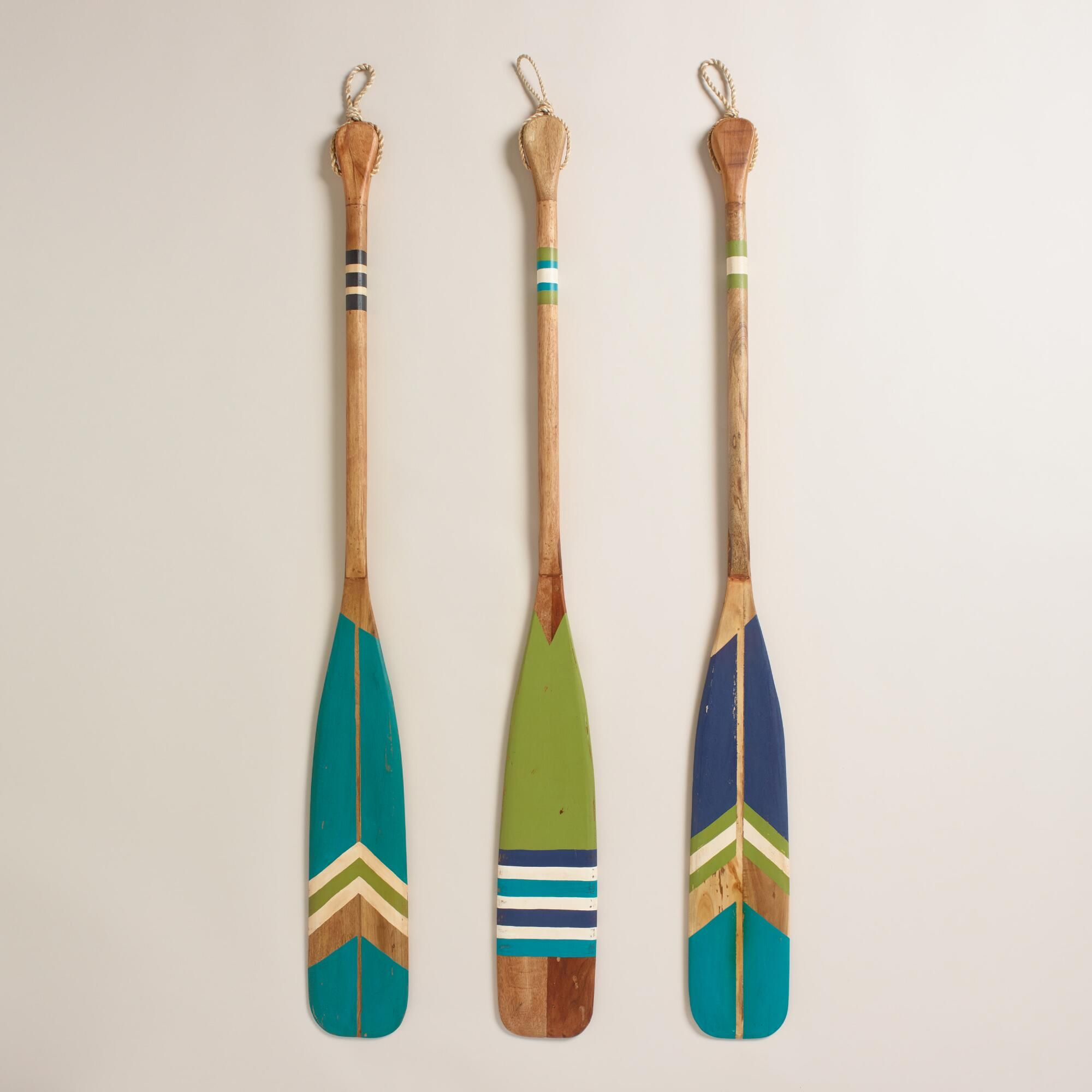 Nautical Wall Decor Oars: Navigate Your Way To Chic Nautical Style With Our Colorful