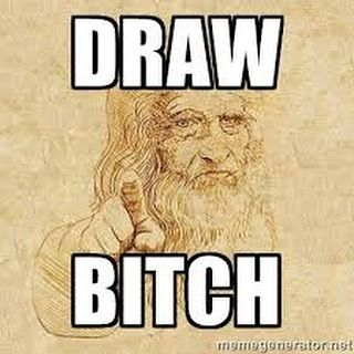 Well i'll draw more  #quote #frases #frasedeldia #quoteoftheday #quotestagram #inspirationalquotes #pinquotes #lovequotes #davinci #frasesbonitas #beautiful #bestoftheday #picoftheday #cute #love #ilovehim #draw #drawing #instaartist #happy #picoftheday #amazing #fun #smile #sketch #instadaily