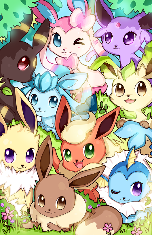 Eeveelution By Geegeet On Deviantart Pokemon Eevee Cute Pokemon Wallpaper Pokemon Eeveelutions