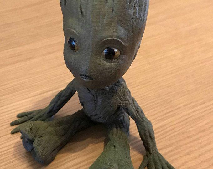 Amigurumi Patterns Groot : Rocket raccoon and free baby groot crochet doll amigurumi blomst