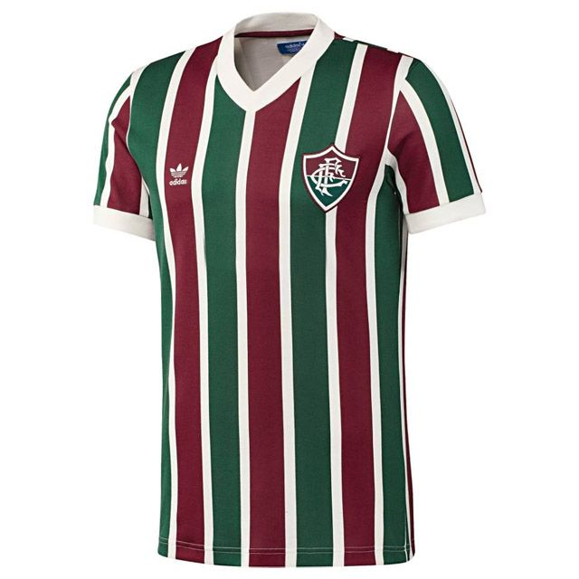 db9a3df9aa Camisa retrô do Fluminense Adidas Originals