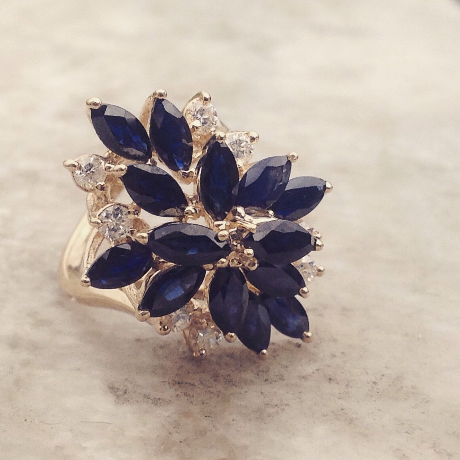 Just listed this vintage Sapphire beauty...it's in amazing condition!
