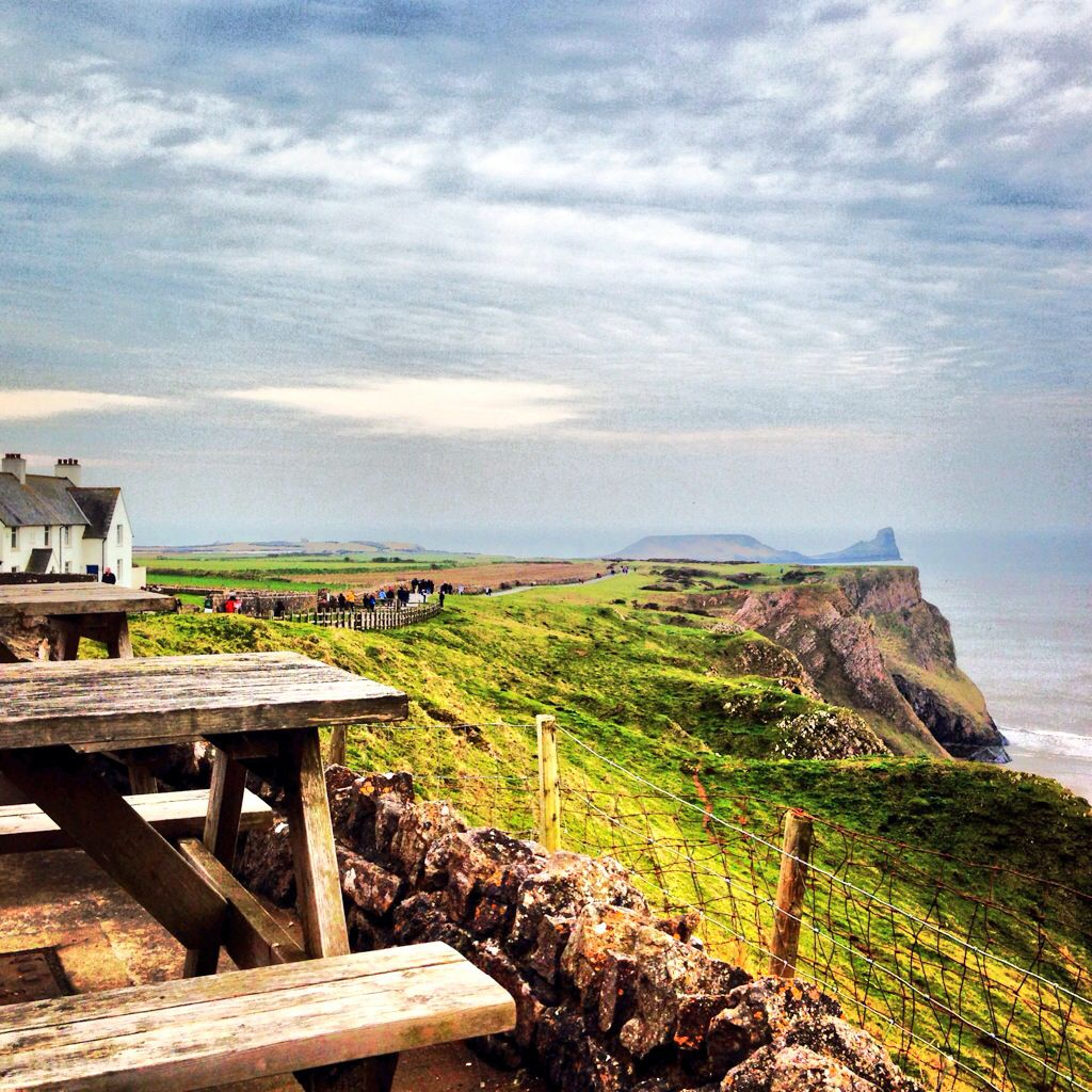 View From The Worms Head Hotel