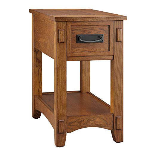Amazon Com Ball Cast Hsa 5009 End Table Brown Kitchen Dining Ashley Furniture End Tables Brown Wood Chair