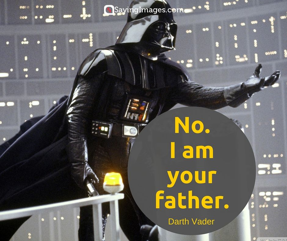 Darth Vader Quotes Gorgeous 70 Memorable And Famous Star Wars Quotes  Famous Star Wars Quotes