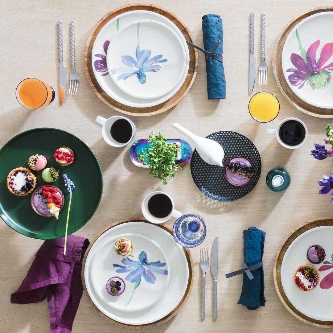 Villeroy Boch On Instagram Creative Crush New Artesano Flower Art Mixed With Artesano Original Villeroyboch Tablew Flower Art Tableware Villeroy Boch