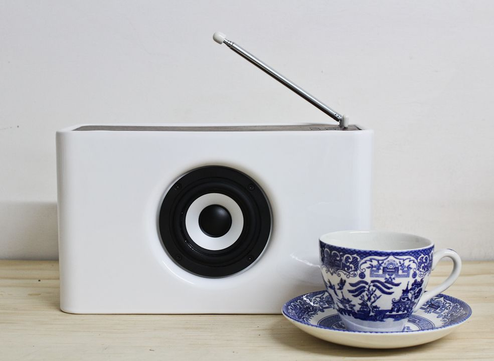 Josiah DAB Radio   Bluetooth speaker. Josiah DAB Radio   Bluetooth speaker   Ceramics  Radios and Models