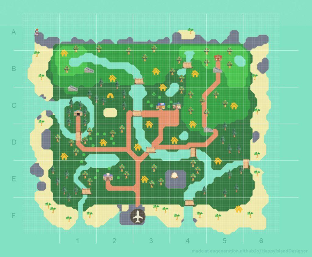 11+ Animal crossing maps new horizons ideas