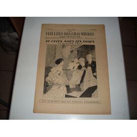Les Veillees Des Chaumieres N° 42 : Le Puit Sous Les Roses De Claude Vela