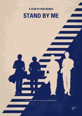 prints on metal Movies & TV minimal minimalism minimalist movie poster chungkong film artwork design stand by me