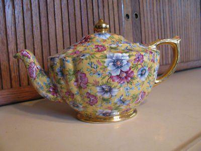 James Sadler Sophie Chintz Teapot: