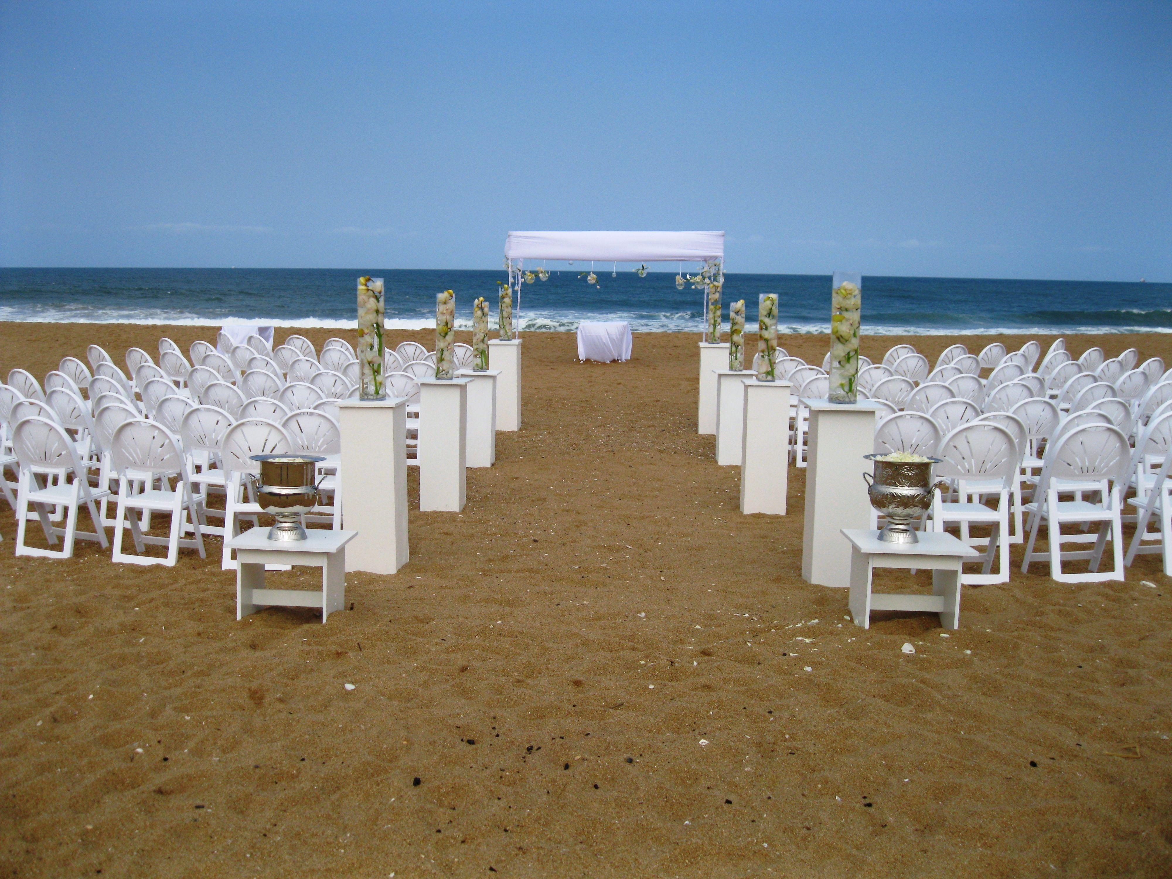 Zimbali Beach Wedding. Decor by www.sweetp.co.za   Decor ...