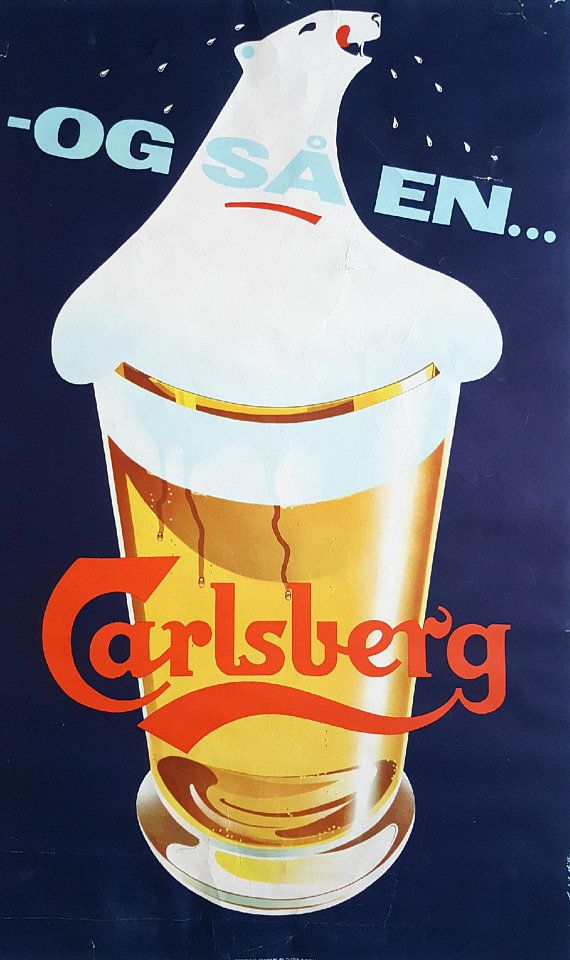 Sous bock brasserie CARLSBERG