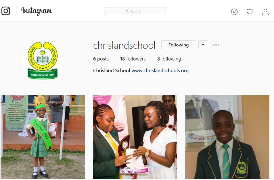 Chrisland at 40! Follow Chrisland Schools on Instagram