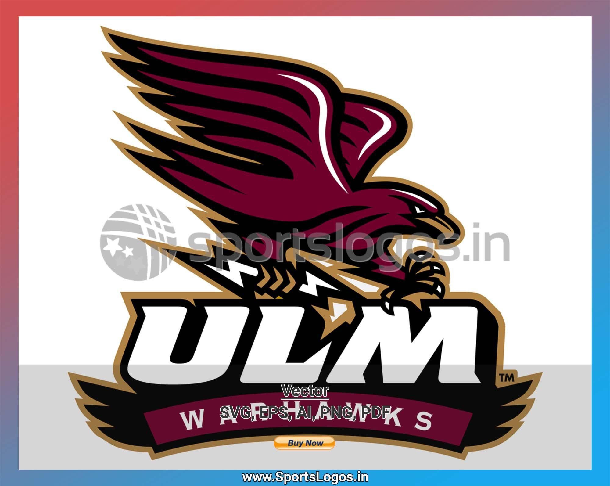 Louisiana Monroe Warhawks NCAA College Vinyl Sticker Decal Car Window Wall