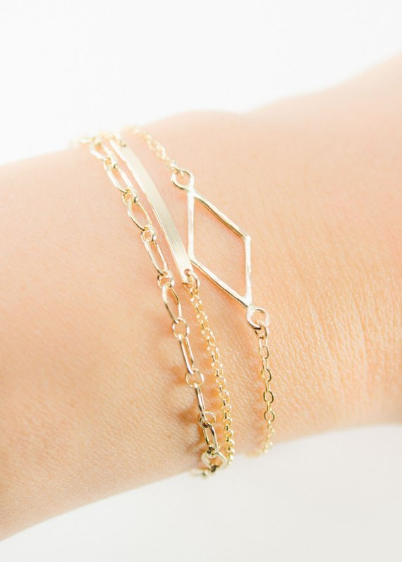 delicate bracelet gift for women israel jewelry birthday gift for her handmade bracelet sterling silver bangle bracelets for women