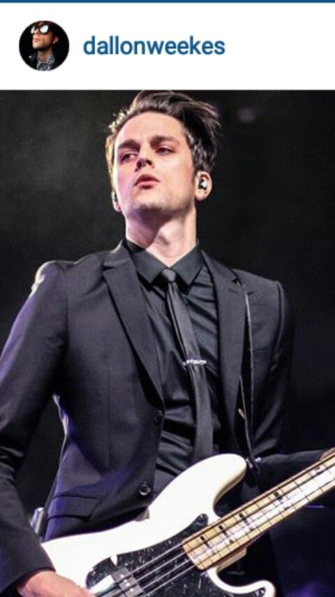 Dallon Weekes from The Brobecks/Panic! At The Disco  So much sass and so much...just kill me now