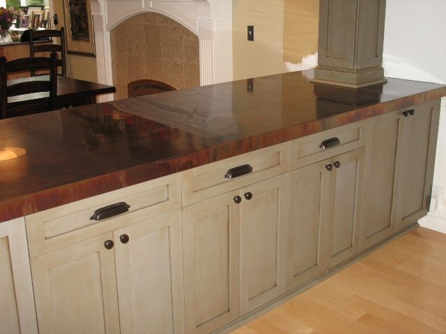 Would like to add some copper in our kitchen remodel. Might cover an ...