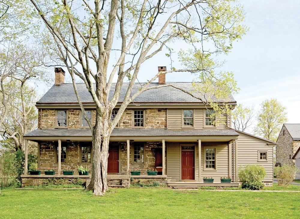 Countrymarketplace Via Exterior View Of Restored Farmhouse