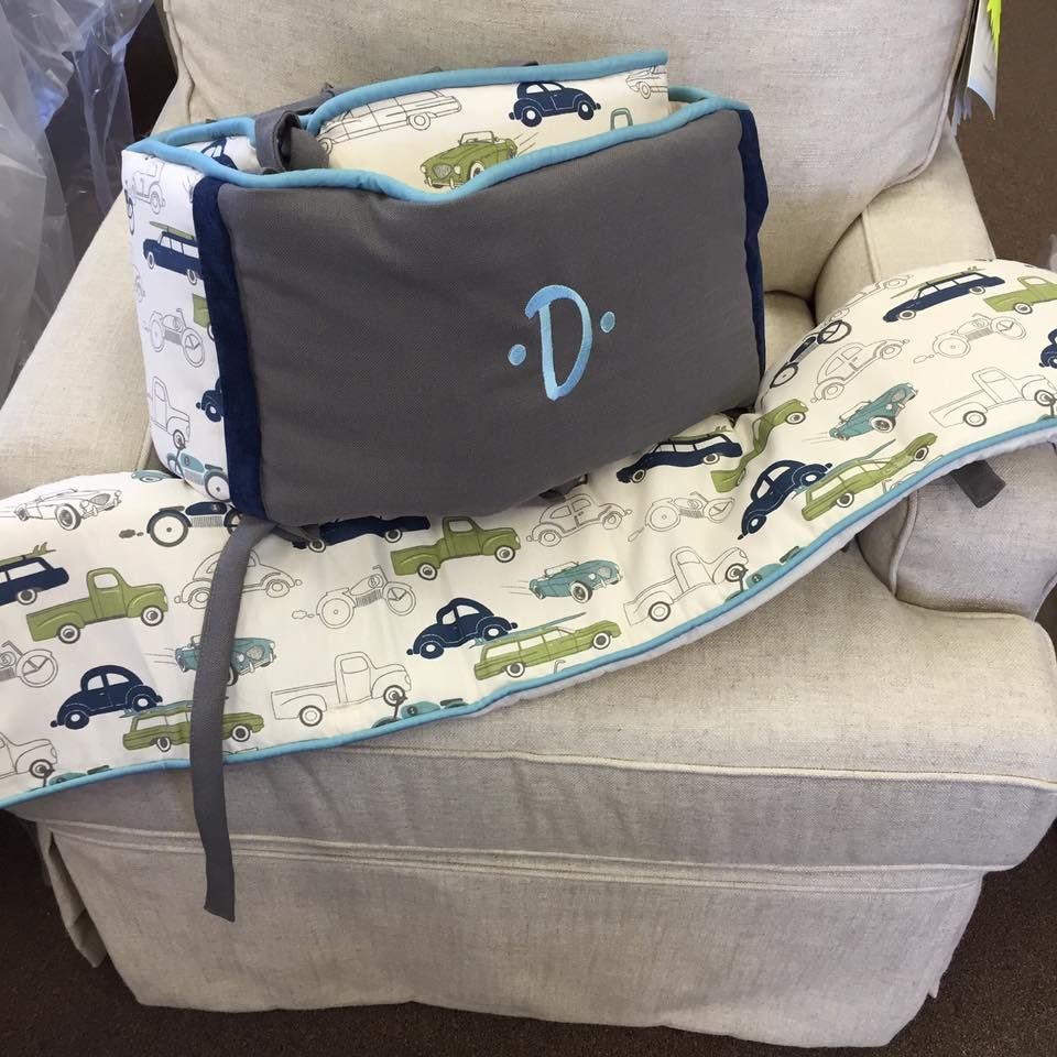 Baby cribs little rock ar - Transportation Theme Crib Bedding With Retro Car Fabric Made By Pine Creek For Pickles Ice
