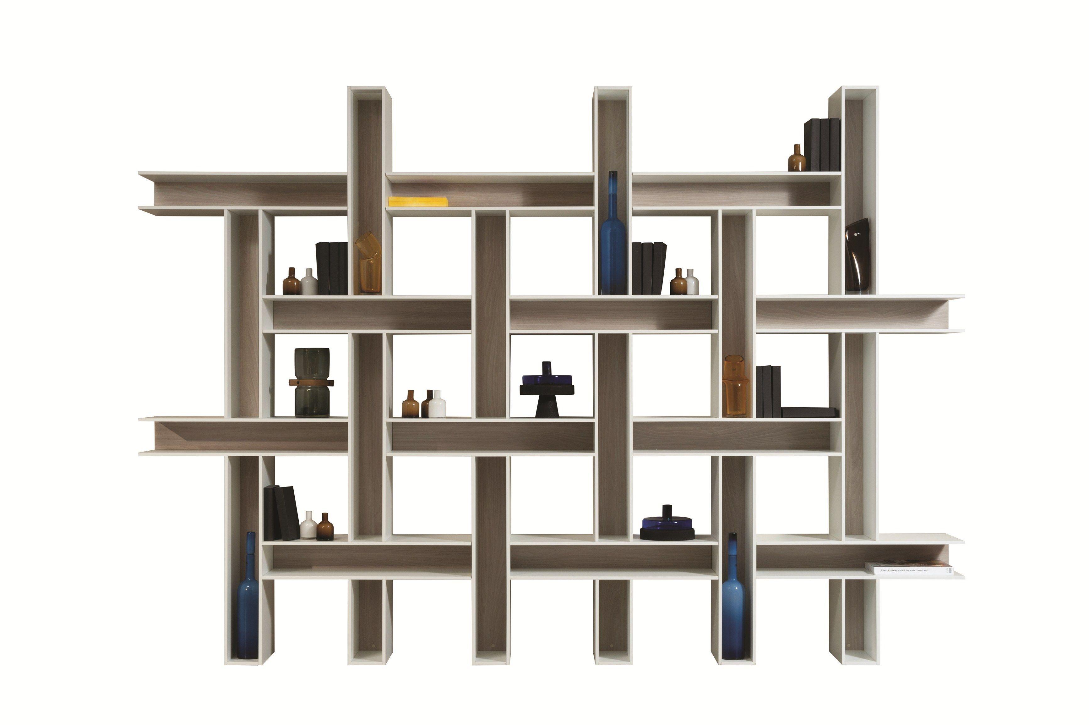 Open Modular Bookcase TISS By ROCHE BOBOIS Design Bina Baitel