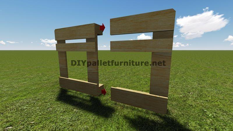 Instructions et des plans pour construire un barbecue avec palettes tape par tape barbecue - Construire des meubles avec des palettes ...