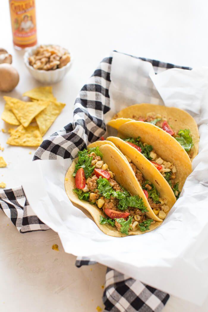 Superfood Turkey Tacos #groundturkeytacos