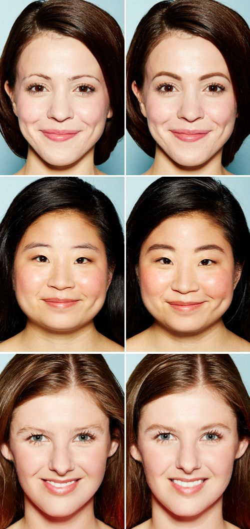 Proof That Defined Brows Can Transform Your Face Hair Makeup Etc