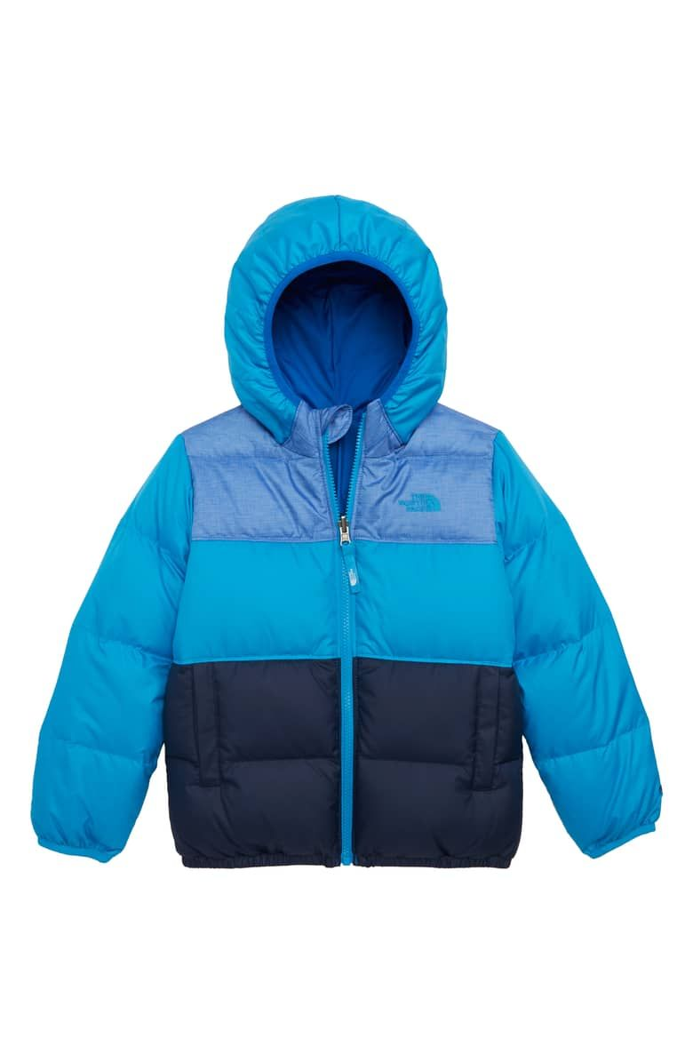 The North Face Kids Moondoggy Water Repellent Reversible Down Jacket Toddler Boys Little Boys Nordstrom Down Jacket North Face Kids The North Face [ 1196 x 780 Pixel ]