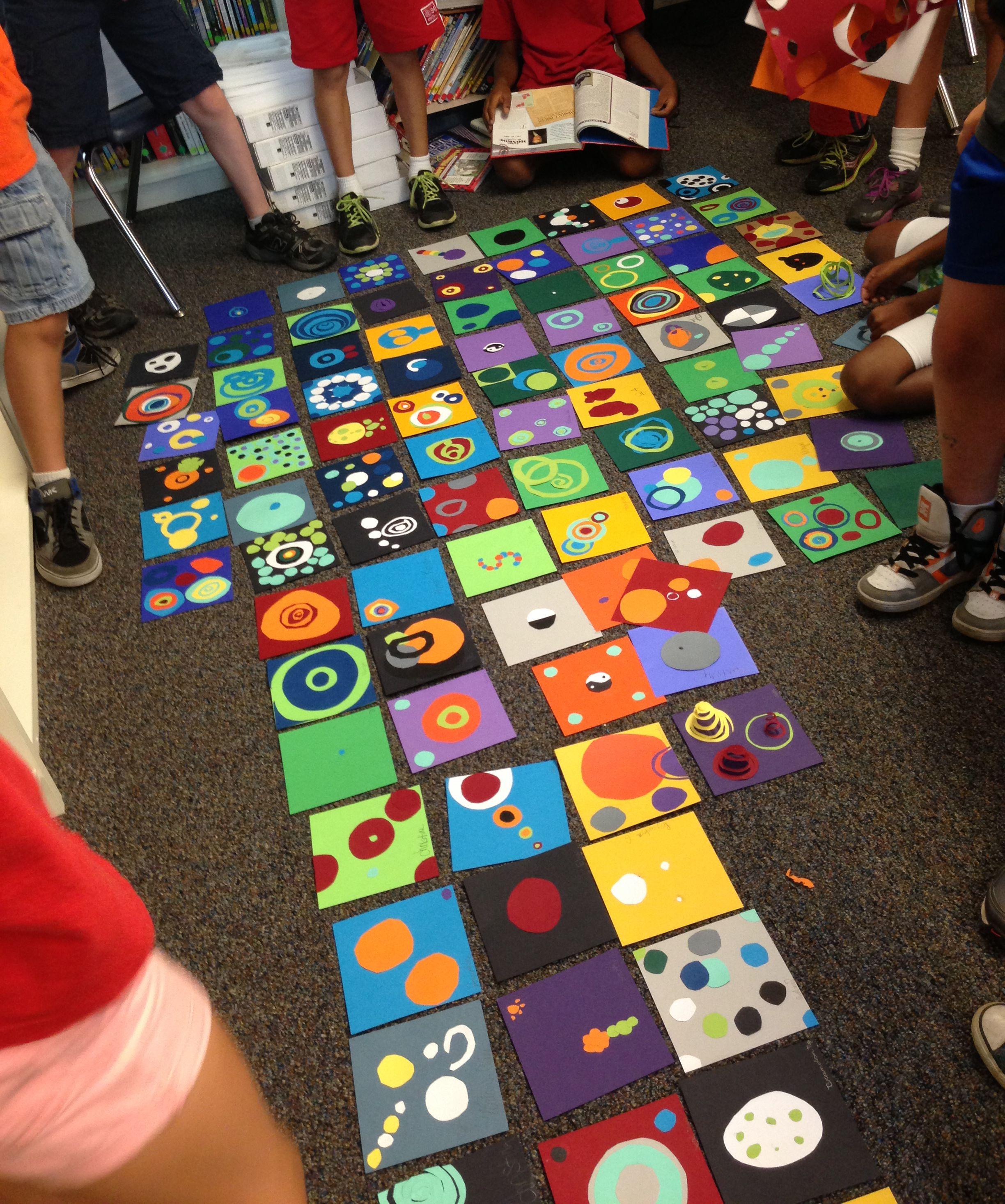 Celebrating International Dot Day With My Elementary Combo