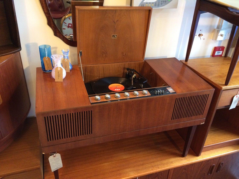 Sublime 1950 S Hmv Stereogram Radiogram In 2019 Era