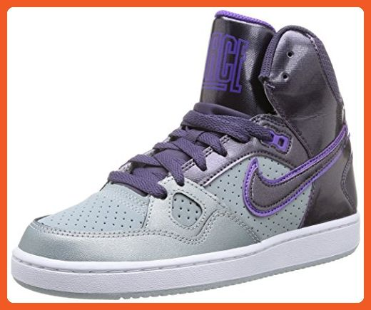 Nike Women's Son of Force Mid GreyPurple (7.5 ) Athletic