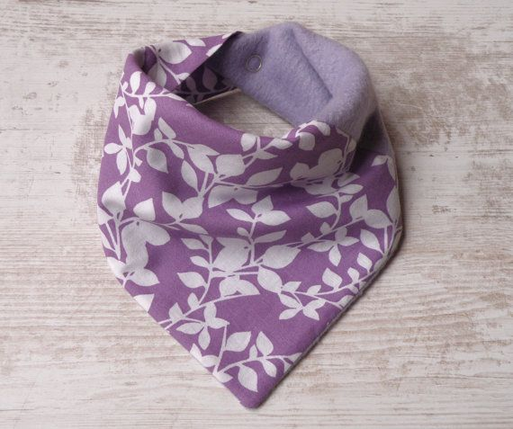 These Baby Bandana bib/scarf are made of both cotton and fleece to keep your child bit warmer and without stains at the same time! They are very comfortable and are ideal for children from 6 - 18 months.  www.melimebabybeeshop.etsy.com
