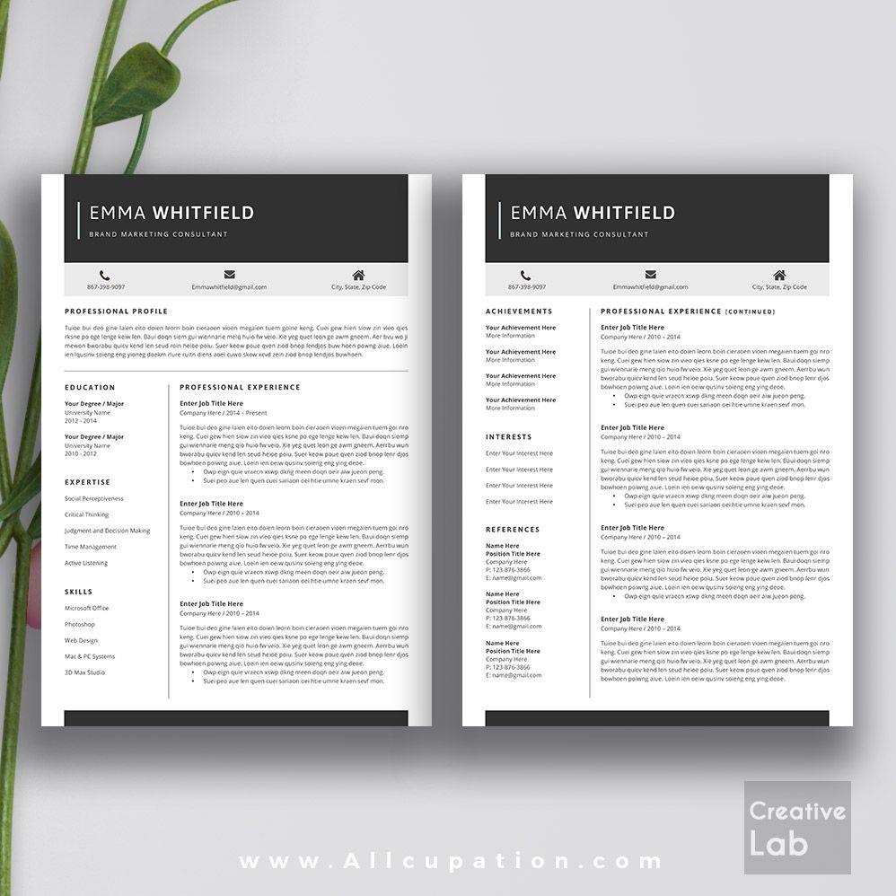 powerful resume templates
